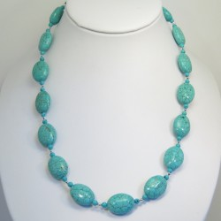 Turquoise Long Necklace