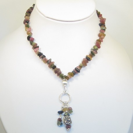 Tourmaline and Labradorite Necklace